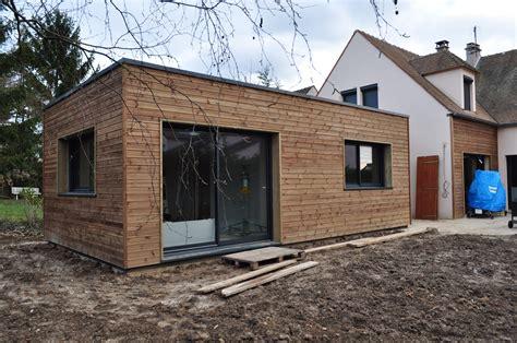 maison bois toit plat prix affordable maison toit plat non accessible with maison bois toit