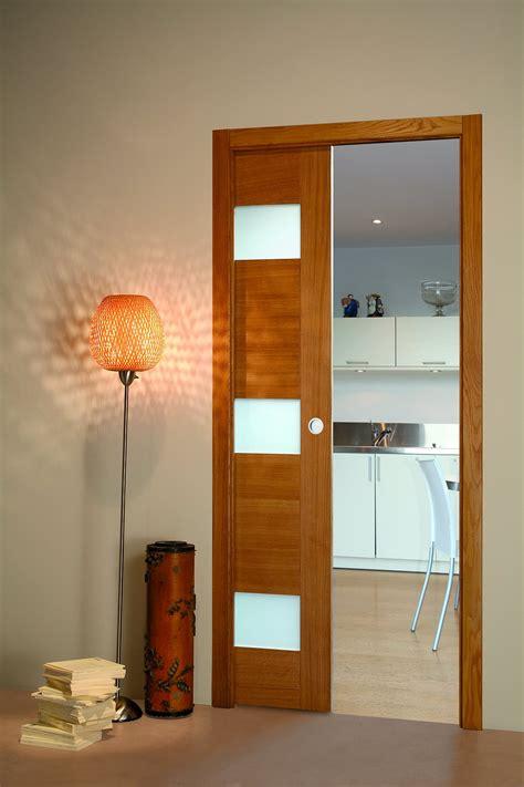 porte coulissante cuisine porte coulissante chene vitree flat porte et bloc porte