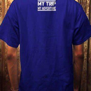 Kaos Mytrip Mtma Putih jual kaos my trip my adventure ot design mtma 1 biru