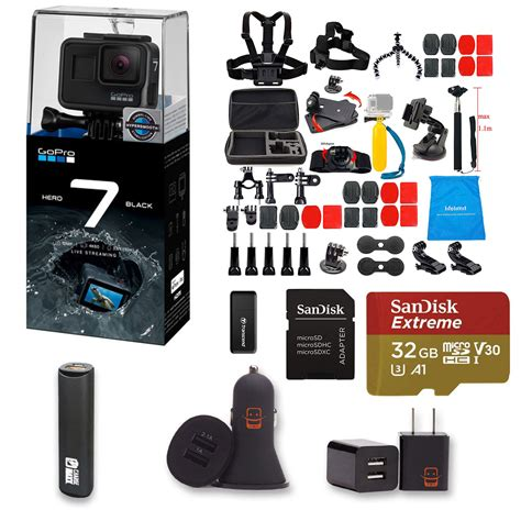 gopro hero black action camera piece accessory kit