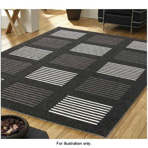 B And M Rugs by B Amp M Sparkle Squares Rug 110 X 160cm Rugs Home Textiles