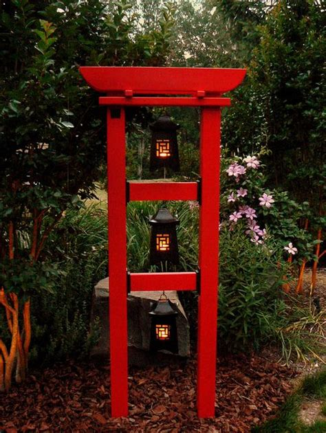 tranquility botanical tower  vibrant red gardening