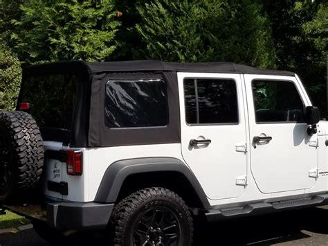 jeep soft top 4 door soft top for 4 door jeep wrangler