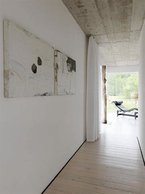 fotostrecke der stil beton holz und weisse waende bild