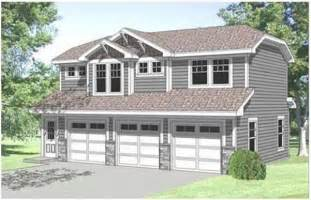3 Car Garage with Apartment above Plans