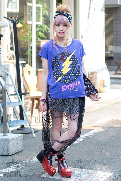 rock star harajuku style japanese street fashion