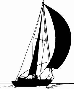 Sailboat Silhouette - ClipArt Best