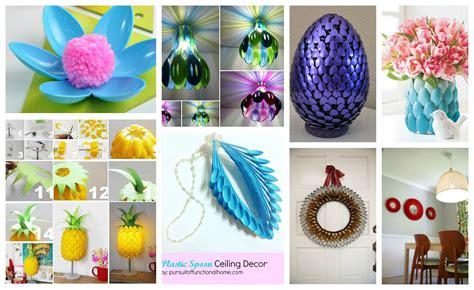 beautiful diy plastic spoon crafts    love