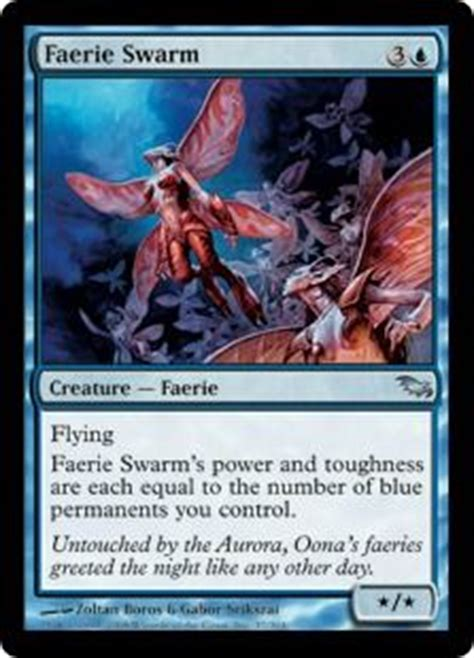 mtg faerie deck 2014 1000 images about black and blue edh deck on