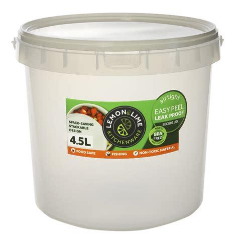 food storage container lt transparent  white lid