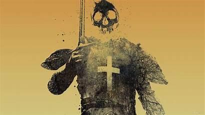 Crusader Skull Knights Crossbones Cherry Alex Skulls