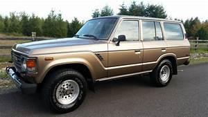 1987 Toyota Land Cruiser Fj60 4x4 Manual Rust Free Sell