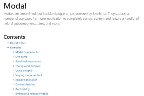 bootstrap modal popup position