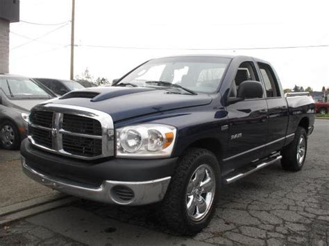 2008 Dodge Ram 1500,4wd,auto,equipped For Towing,hemi,was