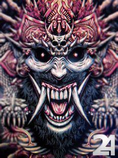 balinese mythology rangda  queen   leak  told