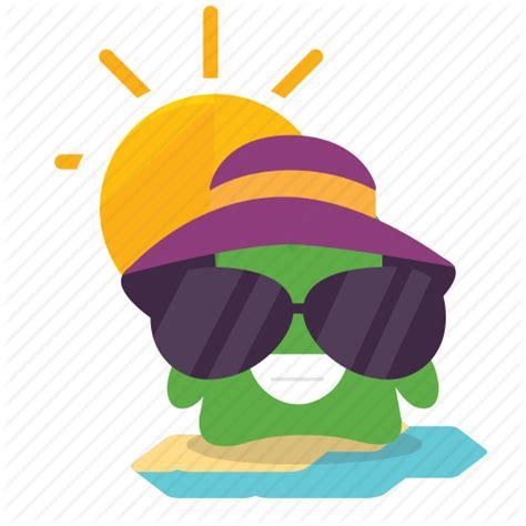 emoji vacation icon