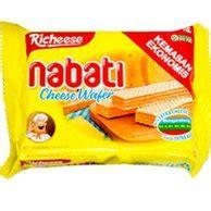harga nabati snack terbaru   harganocom