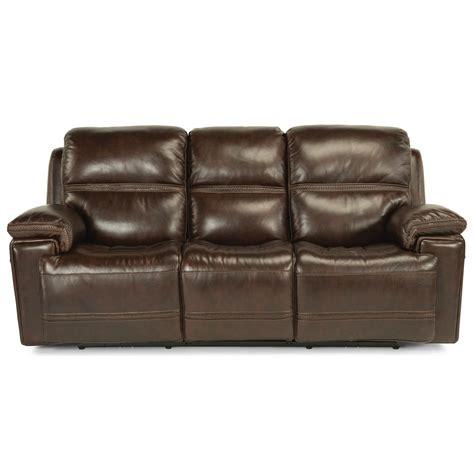 power reclining sofa with usb ports flexsteel latitudes fenwick power reclining sofa with