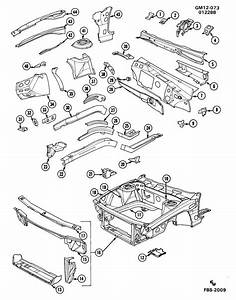 Oldsmobile Delta 88 Bar  Radiator And Front End Tie  Bar