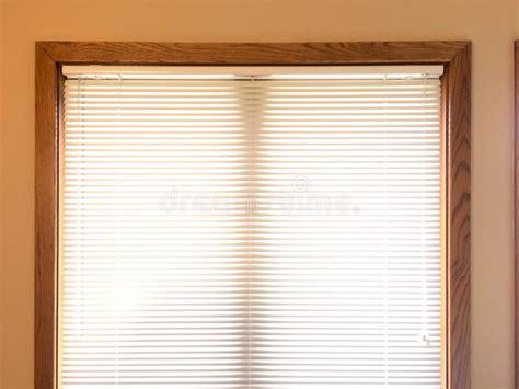 Mini Blinds On Wood Window Frame Stock Photo Kichler Outdoor Lighting Led Puck Lights 120v Halide Amber Emergency Portrait Walmart Patio Light Up Wristbands Help Paying Bill