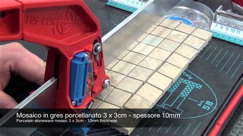 cutting glass mosaic tile with saw cutting mosaic and glass with manual tile cutter
