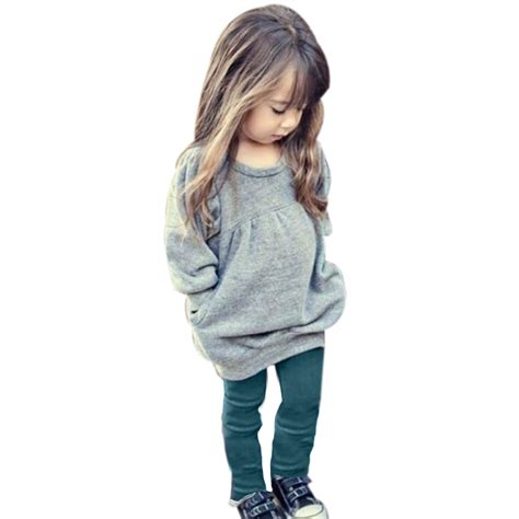 Toddler Girl Clothing Winter Girl Clothes Sets Pants and Tops Cotton Clothes for Girls roupas ...