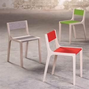 Stuhl Aus Holz : stuhl sepp aus holz und filz grau sirch design kind ~ Markanthonyermac.com Haus und Dekorationen