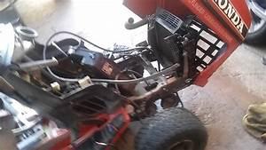 Honda Ht 3813 Charging System Problem