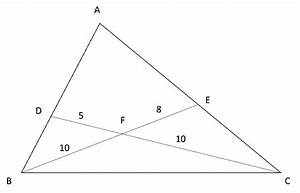 How to solve triangles questions using mass point geometry