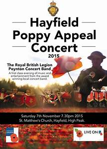 The Poppy Appeal in Hayfield - Hayfield Branch - The Royal ...