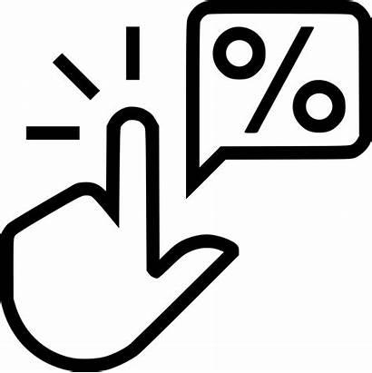 Icon Rate Ctr Thru Svg Marketing Onlinewebfonts
