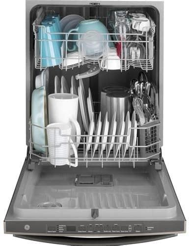 ge gdtpfmds   fully integrated dishwasher   place setting capacity  wash