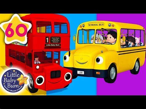 bus song  types  buses  nursery rhymes