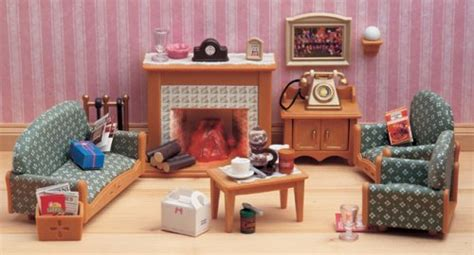 Sylvanian Families Kitchen And Living Room Collection : Sylvanian Families Victorian Living Room Set Amazon Co Uk