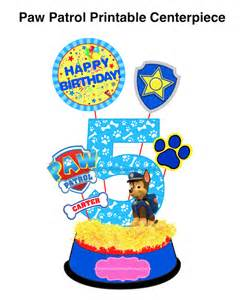PAW Patrol Birthday Party Printables