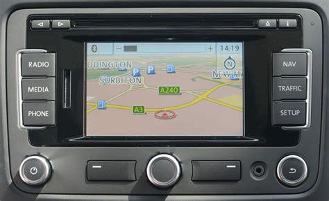 2020 Volkswagen Sat Nav Update Discs