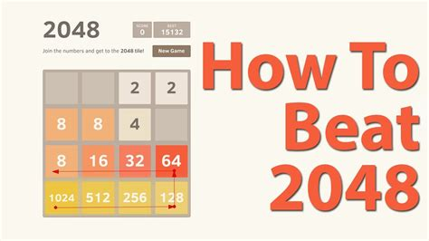 How To Beat 2048 (best Strategy Tips For Beating 2048 Game