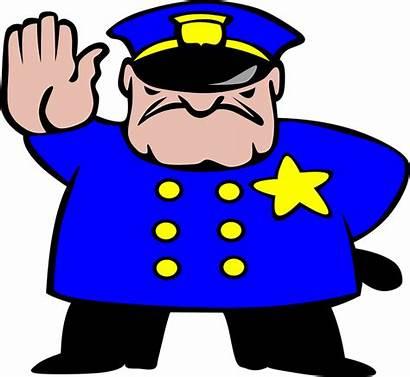 Policeman Stop Officer Pixabay Cop Security Uniform