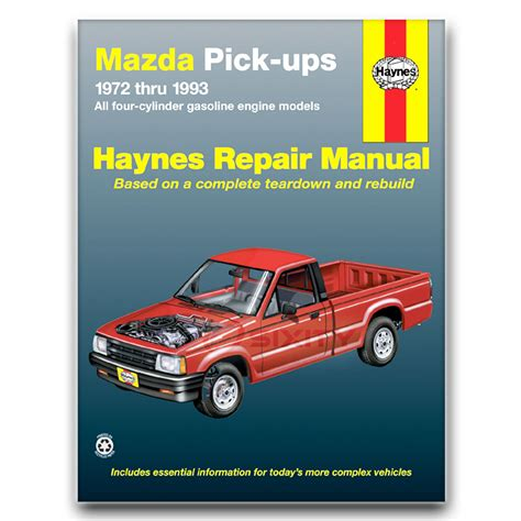 auto repair manual free download 2000 mazda b series spare parts catalogs haynes repair manual for 1979 1987 mazda b2000 shop service garage book qk ebay