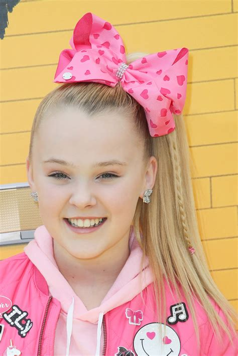 hair styles with bows jojo siwa without hair bow dancer looks so different with