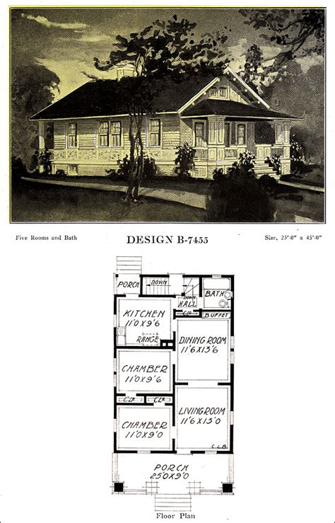 simple  bungalow plan   bowes modern american homes