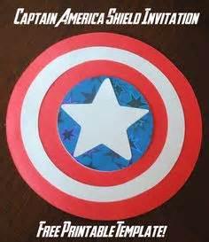 captain america shield captain america   printable