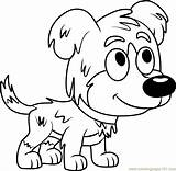 Pound Puppies Coloring Pages Chief Cartoon Coloringpages101 sketch template
