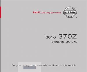 2009 Nissan 370z Owners Manual Pdf