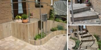 treppe hauseingang pflasterarbeiten deimel garten und landschaftsbau meisterbetrieb