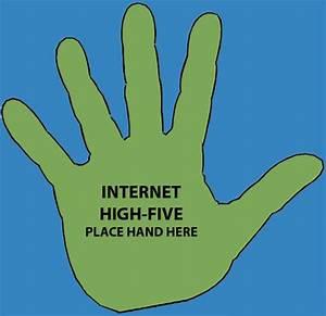 Internet High Five Clip Art – Cliparts
