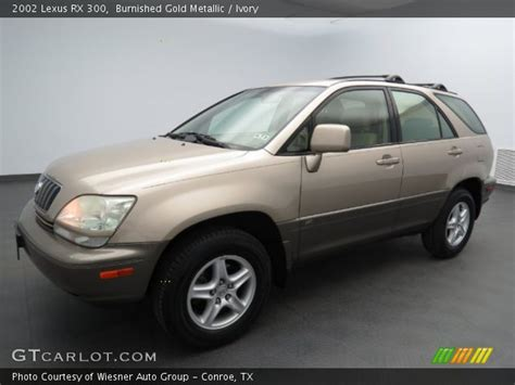 gold lexus rx burnished gold metallic 2002 lexus rx 300 ivory