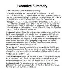 What To Write In An Executive Summary For A Resume by Executive Report 6 Free Pdf Doc Sle