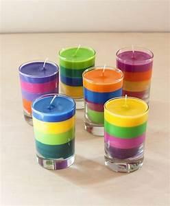 Teelichthalter Glas Bunt : kerzenhalter basteln leichter als sie denken ~ Watch28wear.com Haus und Dekorationen
