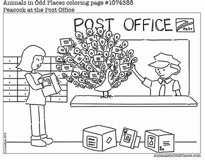 Coloring Office Printable Places Clipart Pages Sometimes